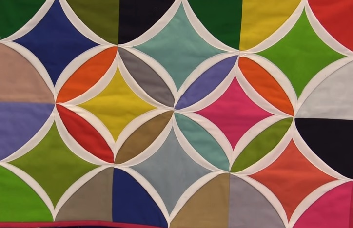 Cathedral Window Quilt – The Secret's In The Middle. – Quilting Cubby : cathedral window quilting - Adamdwight.com
