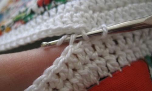 join quilt blocks using crochet