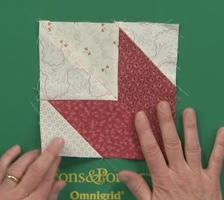 leMoyne star quilt block tutorial