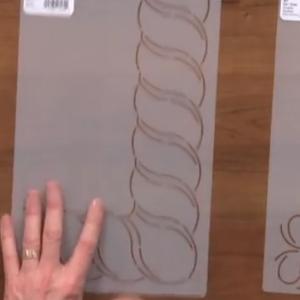 quilt stencil patterns continuous line design