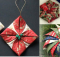 quilted fabric ornaments
