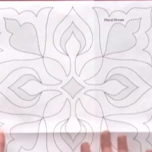 quilting stencils continuous line design