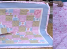 sew a baby quilt