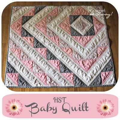baby quilt pattern using three colors