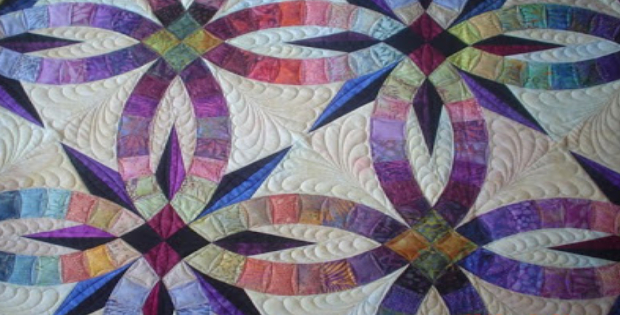 Double Wedding Ring Quilt.Double Wedding Ring Quilt Dreams Do Come True Quilting Cubby