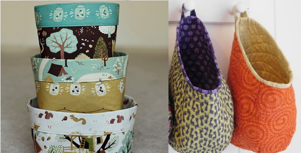 Fabric Bins And Storage Pods For Any Quilter To Make – Quilting Cubby