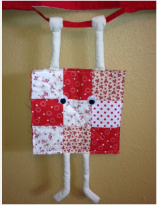 hang in there quilt block