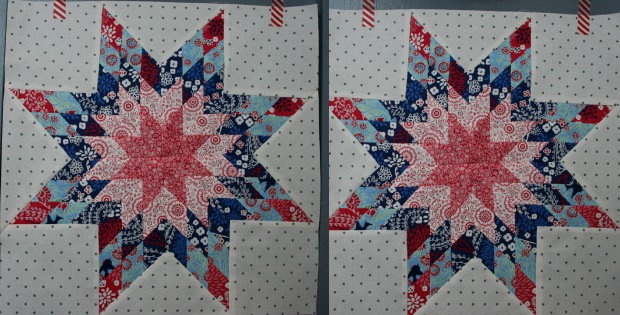 Quilting Pattern For Lone Star : Lone Star Quilt Pattern With A Twist Quilting Cubby