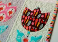 tulip quilt pattern riley blake fabrics