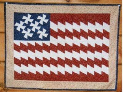 American Flag lil twister pattern
