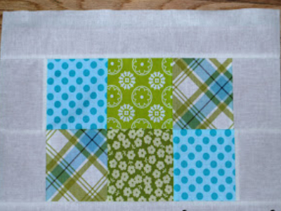 To use the Lil Twister Pinwheel Quilt make blocks