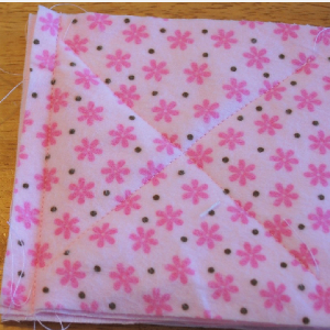 baby raggy quilt blocks sewing