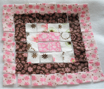 baby raggy quilt pattern layout