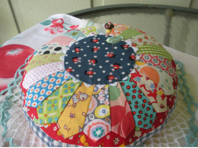 dresden pin cushion