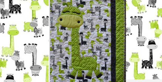 Giraffe Baby Quilt Everyone Loves Gigi – Quilting Cubby : giraffe baby quilt pattern - Adamdwight.com