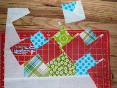 how to use lil twister pinwheel quilt template