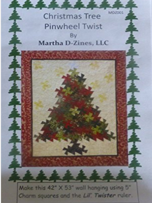 lil twister christmas tree quilt pattern