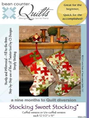 lil twister pinwheel christmas stocking