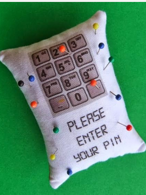 pinpad pin cushion
