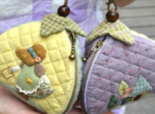 sunbonnet sue zippered pouch