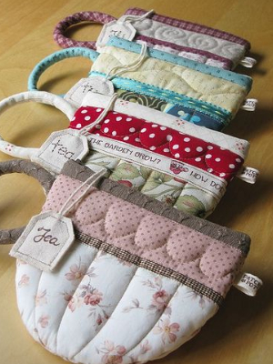 Zipper Pouch Teacup Make The Coffee Cup Pouch For Sewing