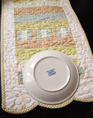 binding scallops plate size