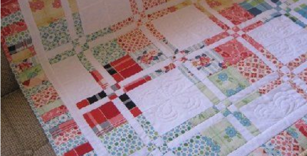 Disappearing Four Patch Makes The Prettiest Scrappy Quilt Quilting