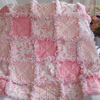 extra raggy quilt minky squares