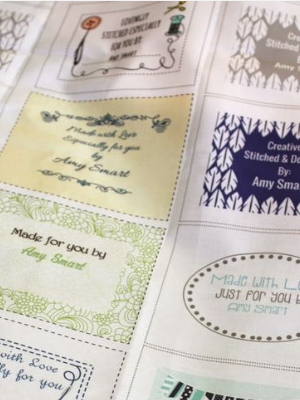 fabric labels for quilting