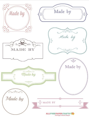 free download for fabric labels