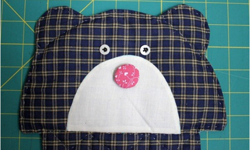 Teddy Bear Quilt Bag You Won't Get Away With Making Just One