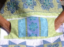 lap quilt with pockets pattern