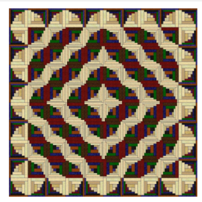 Curvy Log Cabin Quilt Layers Of Beauty To Discover Quilting Cubby