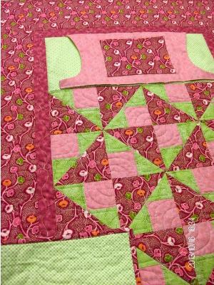 lovie lap quilt with flannel