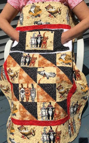 lovie lap quilts with pockets kittens