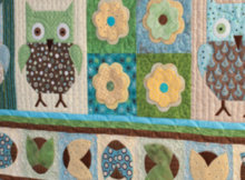 owl wall quilt free appliques
