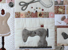 sewing room wall quilt