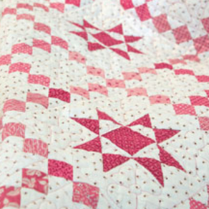teaberry star quilt pattern