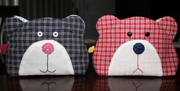 Teddy Bear Quilt Bag You Won't Get Away With Making Just One For