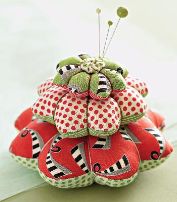 Pin Cushion Flower Tower free pattern