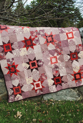 fat quarters reach for the stars quilt
