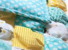 honeybear lane puff quilt
