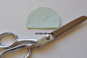 how to make a scallop without a scallop ruler