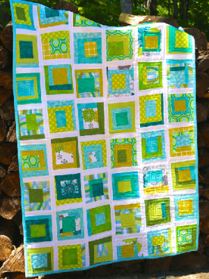 How To Make Wonky Quilt Blocks For Mr Fox Wearing A Bow