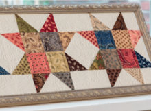 picture frames for quilt projects