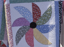 pinwheel flurry black eyed susan quilt pattern