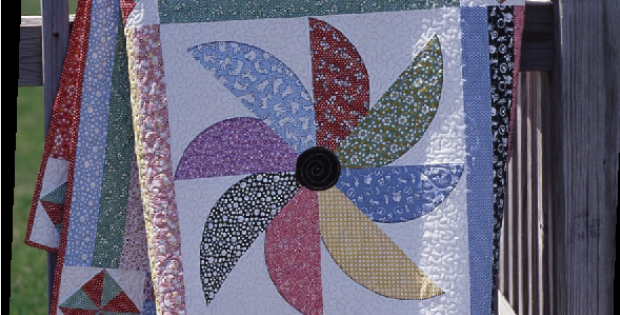 Pinwheel Flurry in 1930's Reproduction Favorites – Quilting Cubby : flurry quilt pattern - Adamdwight.com