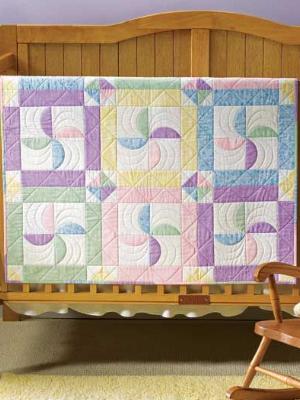 pinwheel flurry quilt baby quilt