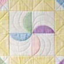 pinwheel flurry quilt pastel colors