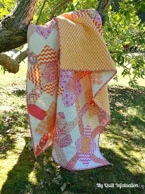 purse strings quilt block pattern